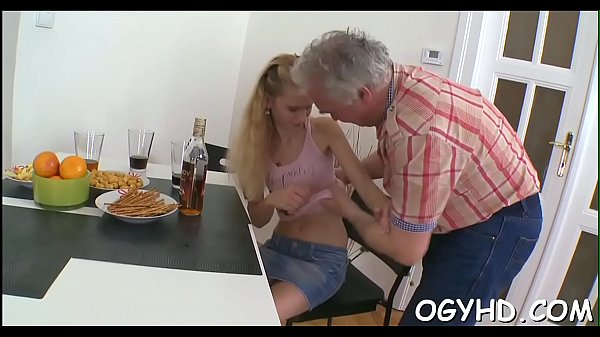 Old young fuck