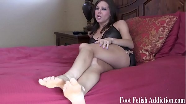 Lick feet, Foot job