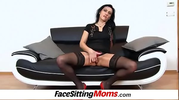 Facesitting, Pump, Stocking mom, Pumping, Old mother