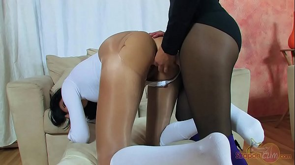 Cosplay, Pantyhose lesbian, Cosplay blowjob