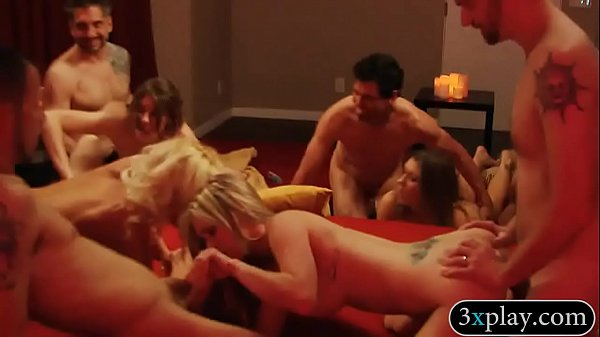 Swinger orgy, Swingers