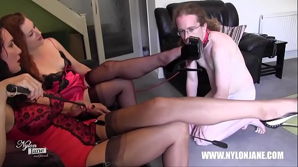 Nylon feet, Foot worship, Trample, White stocking, Trampling, Stocking feet
