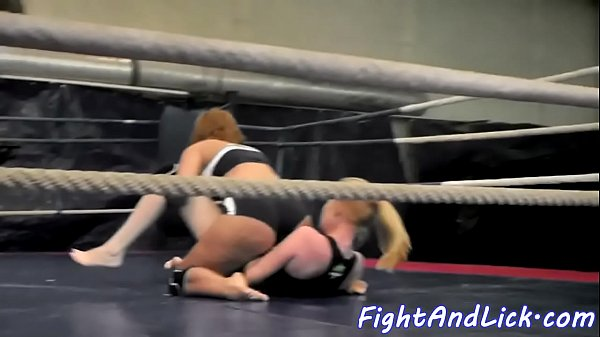 Catfight, Lesbian sexfight, Sexfight, Ring, Grope