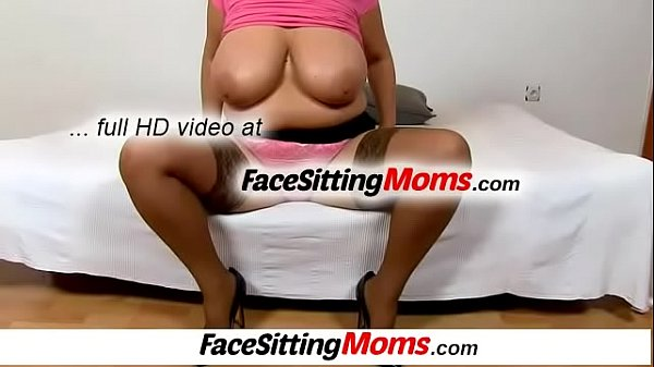 Mom stocking, Stocking mom, Pumping, Busty mom